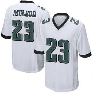 Youth Nike Philadelphia Eagles Rodney McLeod White Jersey - Game