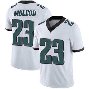 Youth Nike Philadelphia Eagles Rodney McLeod White Vapor Untouchable Jersey - Limited