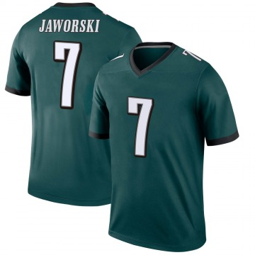 Youth Nike Philadelphia Eagles Ron Jaworski Green Jersey - Legend