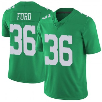 Youth Nike Philadelphia Eagles Rudy Ford Green Vapor Untouchable Jersey - Limited