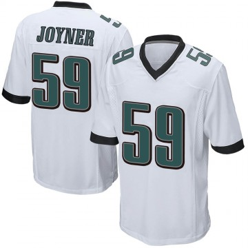 Youth Nike Philadelphia Eagles Seth Joyner White Jersey - Game