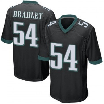 Youth Nike Philadelphia Eagles Shaun Bradley Black Alternate Jersey - Game