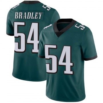 Youth Nike Philadelphia Eagles Shaun Bradley Green Midnight 100th Vapor Jersey - Limited