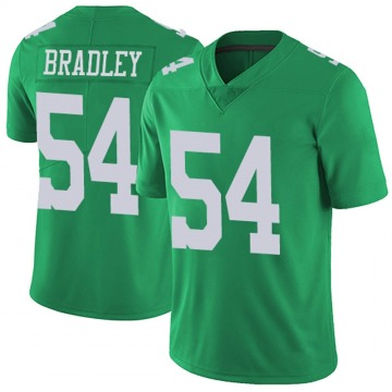 Youth Nike Philadelphia Eagles Shaun Bradley Green Vapor Untouchable Jersey - Limited