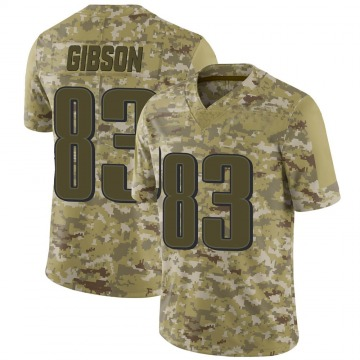 Youth Nike Philadelphia Eagles Shelton Gibson Camo 2018 Salute to Service Jersey - Limited