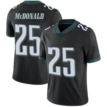Youth Nike Philadelphia Eagles Tommy McDonald Black Alternate Vapor Untouchable Jersey - Limited