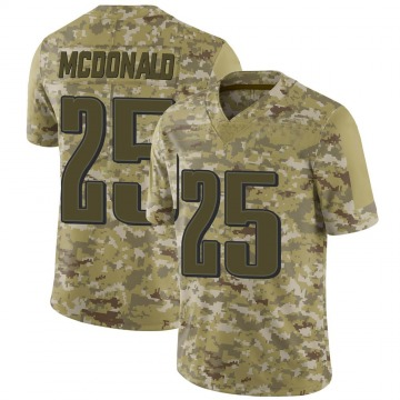 Youth Nike Philadelphia Eagles Tommy McDonald Camo 2018 Salute to Service Jersey - Limited