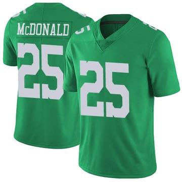 Youth Nike Philadelphia Eagles Tommy McDonald Green Vapor Untouchable Jersey - Limited