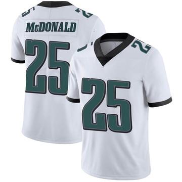 Youth Nike Philadelphia Eagles Tommy McDonald White Vapor Untouchable Jersey - Limited