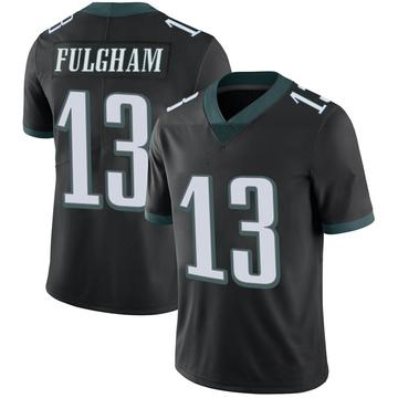 Youth Nike Philadelphia Eagles Travis Fulgham Black Alternate Vapor Untouchable Jersey - Limited