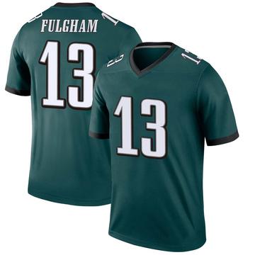 Youth Nike Philadelphia Eagles Travis Fulgham Green Jersey - Legend