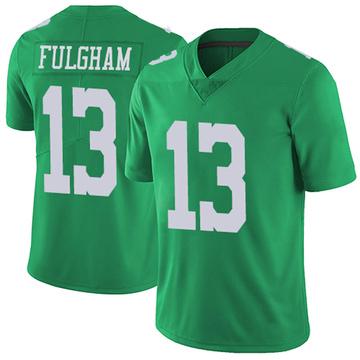 Youth Nike Philadelphia Eagles Travis Fulgham Green Vapor Untouchable Jersey - Limited