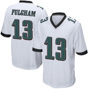 Youth Nike Philadelphia Eagles Travis Fulgham White Jersey - Game