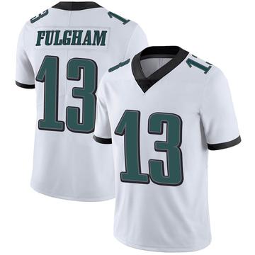 Youth Nike Philadelphia Eagles Travis Fulgham White Vapor Untouchable Jersey - Limited