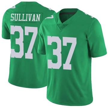 Youth Nike Philadelphia Eagles Tre Sullivan Green Vapor Untouchable Jersey - Limited