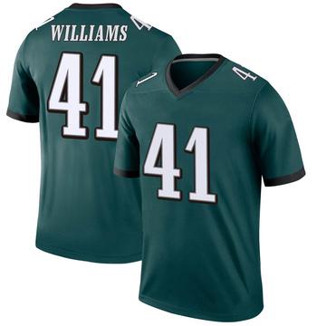 Youth Nike Philadelphia Eagles Trevor Williams Green Jersey - Legend