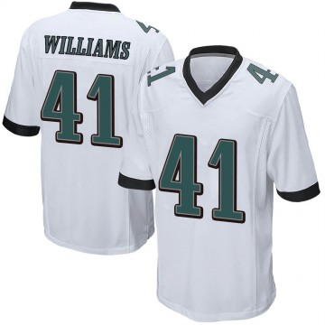Youth Nike Philadelphia Eagles Trevor Williams White Jersey - Game