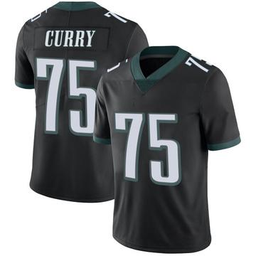 Youth Nike Philadelphia Eagles Vinny Curry Black Alternate Vapor Untouchable Jersey - Limited