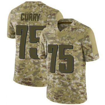 Youth Nike Philadelphia Eagles Vinny Curry Camo 2018 Salute to Service Jersey - Limited