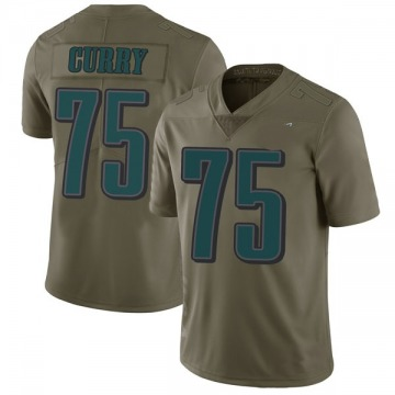 Youth Nike Philadelphia Eagles Vinny Curry Green 2017 Salute to Service Jersey - Limited