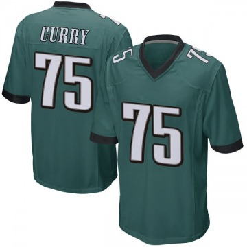Youth Nike Philadelphia Eagles Vinny Curry Green Team Color Jersey - Game