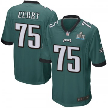 Youth Nike Philadelphia Eagles Vinny Curry Green Team Color Super Bowl LII Jersey - Game