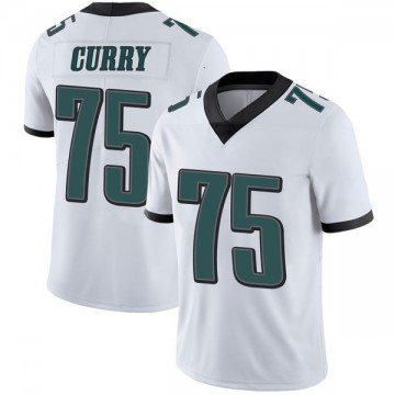 Youth Nike Philadelphia Eagles Vinny Curry White Vapor Untouchable Jersey - Limited