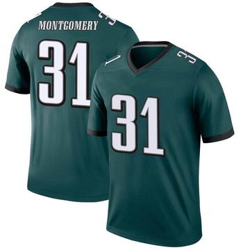 Youth Nike Philadelphia Eagles Wilbert Montgomery Green Jersey - Legend