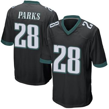 Youth Nike Philadelphia Eagles Will Parks Black Alternate Jersey - Game