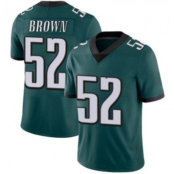 Youth Nike Philadelphia Eagles Zach Brown Green Midnight Team Color Vapor Untouchable Jersey - Limited