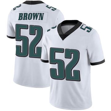 Youth Nike Philadelphia Eagles Zach Brown White Vapor Untouchable Jersey - Limited