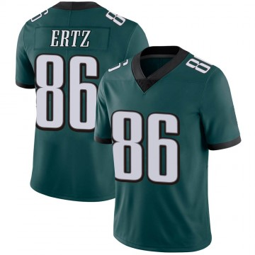 Youth Nike Philadelphia Eagles Zach Ertz Green Midnight Team Color Vapor Untouchable Jersey - Limited